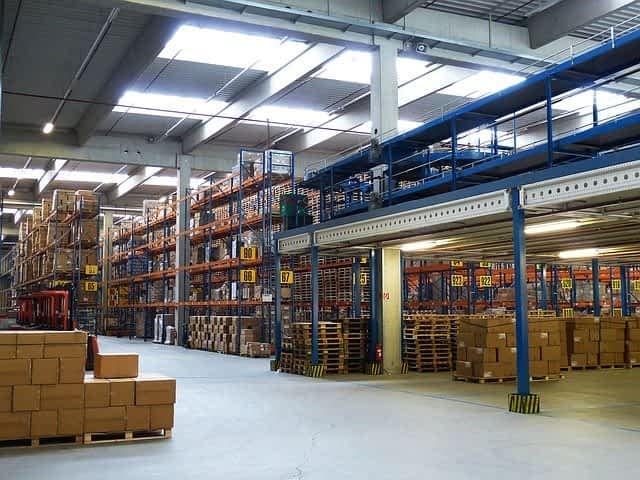 Logistiklager Barcelona