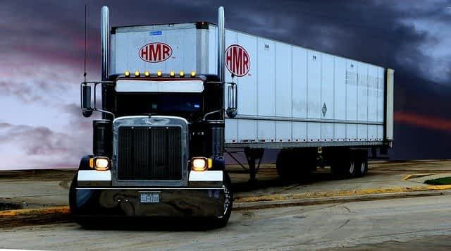 transport truck tractor trailer